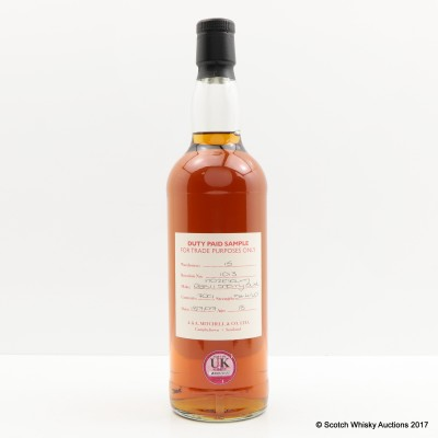 Hazelburn 1997 18 Year Old Duty Paid Sample