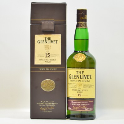 Glenlivet French Oak Reserve 15 Year Old