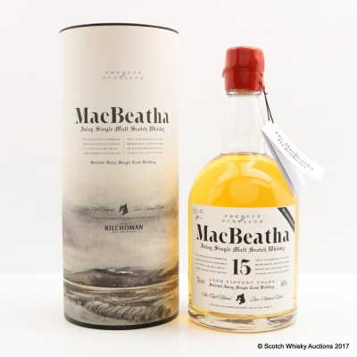 Bruichladdich MacBeatha 15 Year Old 2nd Edition Feis Ile 2008