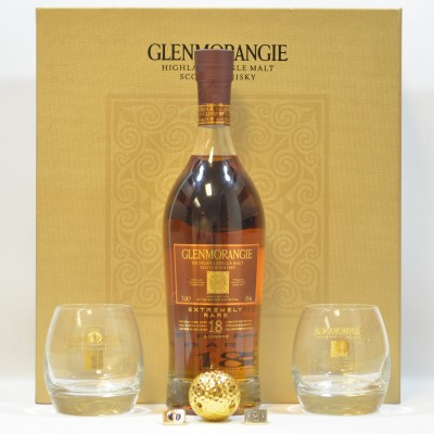 Glenmorangie Extremely Rare 18 Year Old Open Championship 2013 Gift Set