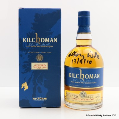 Kilchoman 2006 Single Cask for The German Tasting Tour