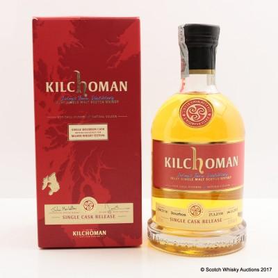 Kilchoman 2008 Single Cask for Milano 2013 Whisky Festival