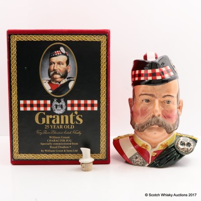 Grant's 25 Year Old Character Jug