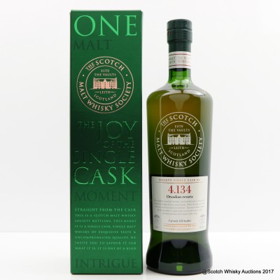 SMWS 4.134 Highland Park 24 Year Old