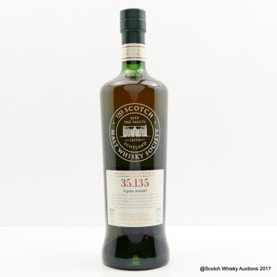 SMWS 35.135 Glen Moray 1994 20 Year Old