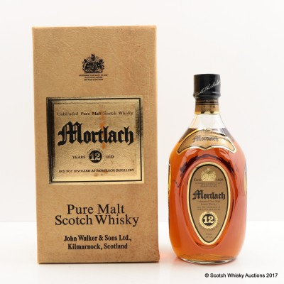 Mortlach 12 Year Old Johnnie Walker 75cl