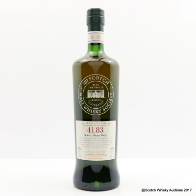 SMWS 41.83 Dailuaine 2006 9 Year Old