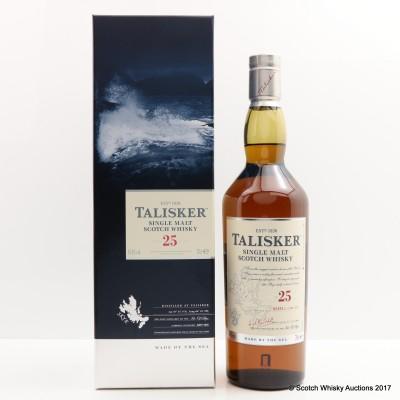 Talisker 25 Year Old 2017 Release