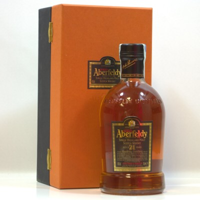 Aberfeldy 21 Year Old Boxed