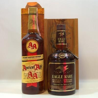 Ancient Age Kentucky Bourbon & Eagle Rare Kentucky Bourbon 75cl