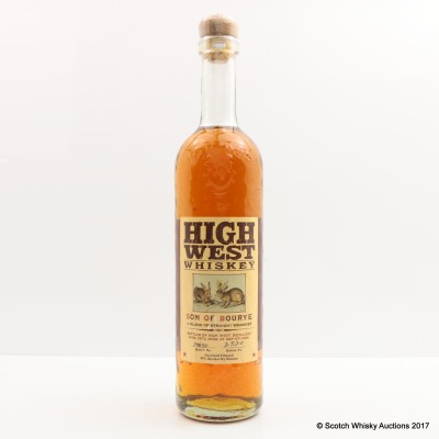 High West Son Of Bourye 75cl