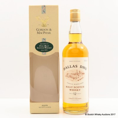 Dallas Dhu 12 Year Old Gordon & Macphail