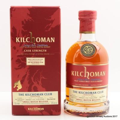 Kilchoman 2011 Small Batch Release For The Kilchoman Club 4th Edition