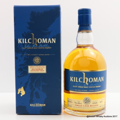 Kilchoman 2006 5 Year Old Single Cask For The Distillery Shop