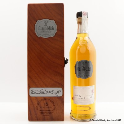 Glenfiddich 15 Year Old Hand Filled