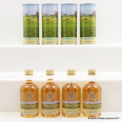 Bruichladdich Links St Andrews The Old Course 17th Hole Minis 4 x 5cl