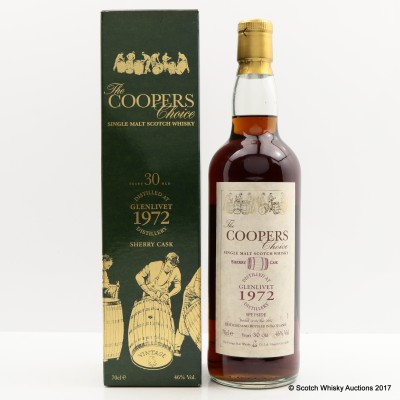 Glenlivet 1972 30 Year Old Coopers Choice