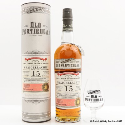 Craigellachie 1999 15 Year Old Old Particular & Glass