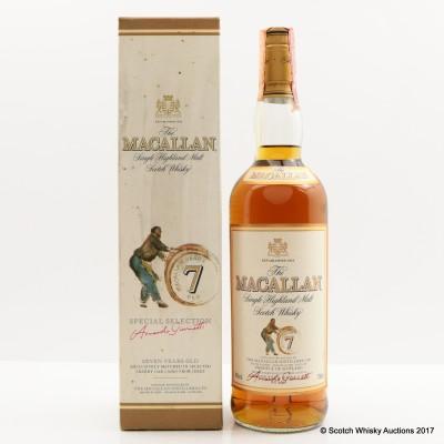 Macallan 7 Year Old Giovinetti & Figli Import