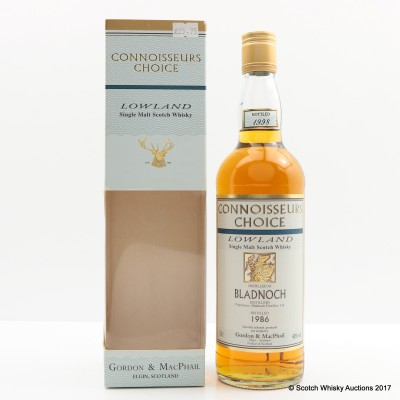 Bladnoch 1986 Connoisseurs Choice