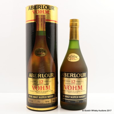 Aberlour 12 Year Old V.O.H.M. Pure Malt 25 Fl Oz
