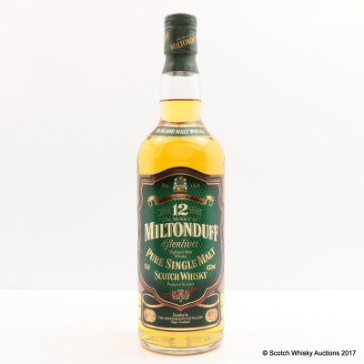 Miltonduff-Glenlivet 12 Year Old 75cl