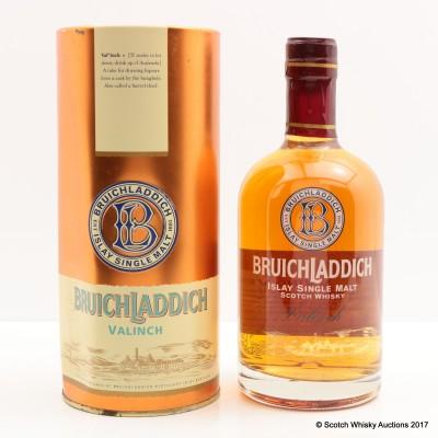 Bruichladdich Valinch 1990 Viking Visit 50cl