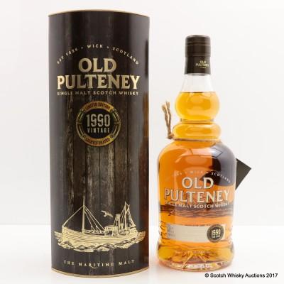 Old Pulteney 1990 Vintage
