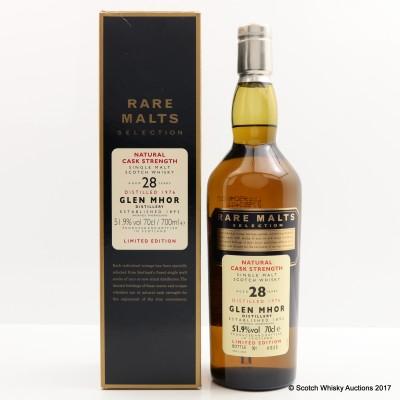 Rare Malts Glen Mhor 1976 28 Year Old
