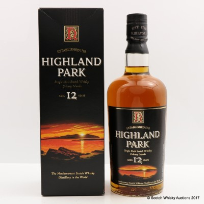 Highland Park 12 Year Old Old Style