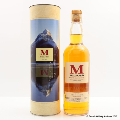 Milford New Zealand Whisky 12 Year Old