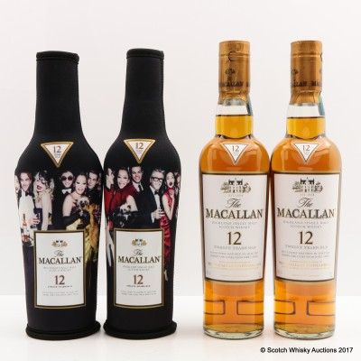 Macallan 12 Year Old Masters Of Photography Mario Testino 2 x 35cl