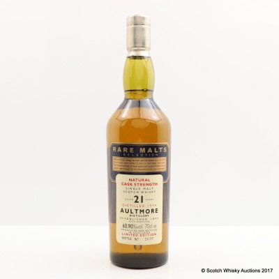 Rare Malts Aultmore 1974 21 Year Old