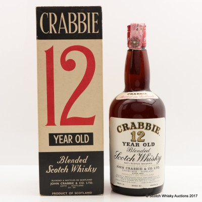 Crabbie 12 Year Old 75cl