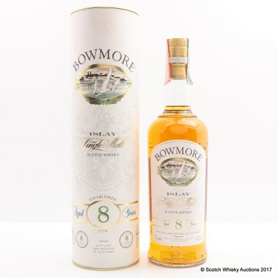 Bowmore 8 Year Old Old Style