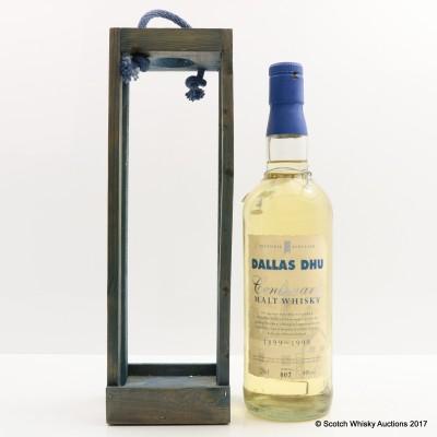 Dallas Dhu Centenary 1899-1999 Historic Scotland With Certificate