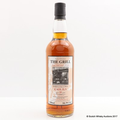 Caol Ila 1984 25 Year Old The Grill