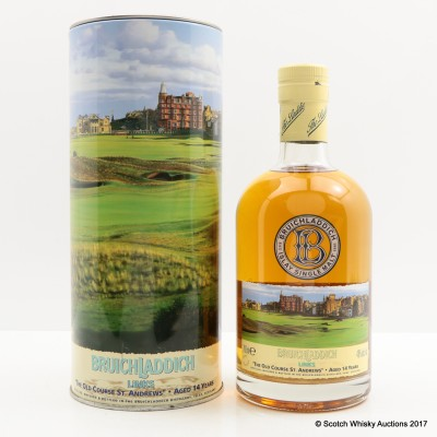 Bruichladdich Links St Andrews The Old Course 14 Year Old