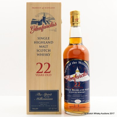 Glenfarclas 22 Year Old Spirit Of The Millennium