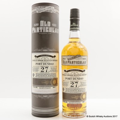 Port Dundas 1988 27 Year Old Old Particular