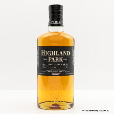 Highland Park 10 Year Old Ambassador's Choice