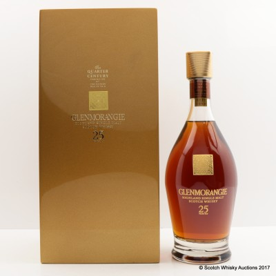 Glenmorangie 25 Year Old Quarter Of A Century