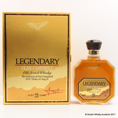 Clan Campbell 21 Year Old Legendary