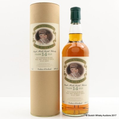Macallan 14 Year Old Moray Open 100th Anniversary