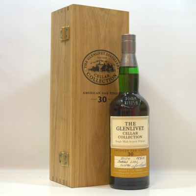 Glenlivet Cellar Collection American Oak Finish 30 Year Old