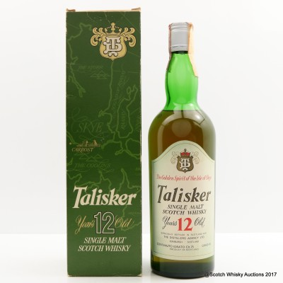 Talisker 12 Year Old Old Style 75cl