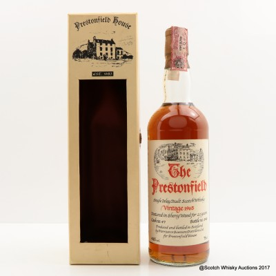 Bowmore 1965 22 Year Old Prestonfield 75cl