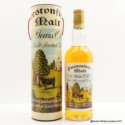 Prestonfield 10 Year old For Signatory 75cl