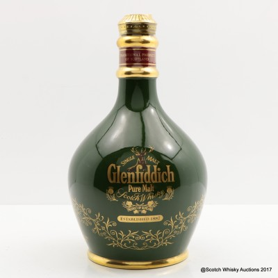 Glenfiddich 18 Year Old Ancient Reserve Green Decanter