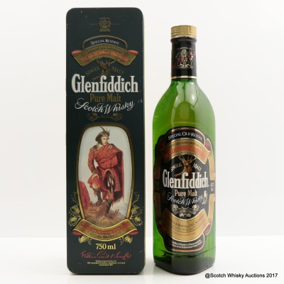 Glenfiddich Clans Of The Highlands Of Scotland Clan Drummond 75cl